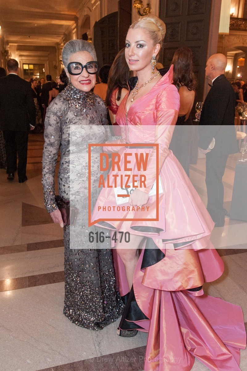 Joy Venturini Bianchi, Sonya Molodetskaya, SAN FRANCISCO BALLET Opening Night Gala: PHENOMENAL - Arrivals, US. SF City Hall, January 22nd, 2014,Drew Altizer, Drew Altizer Photography, full-service agency, private events, San Francisco photographer, photographer california