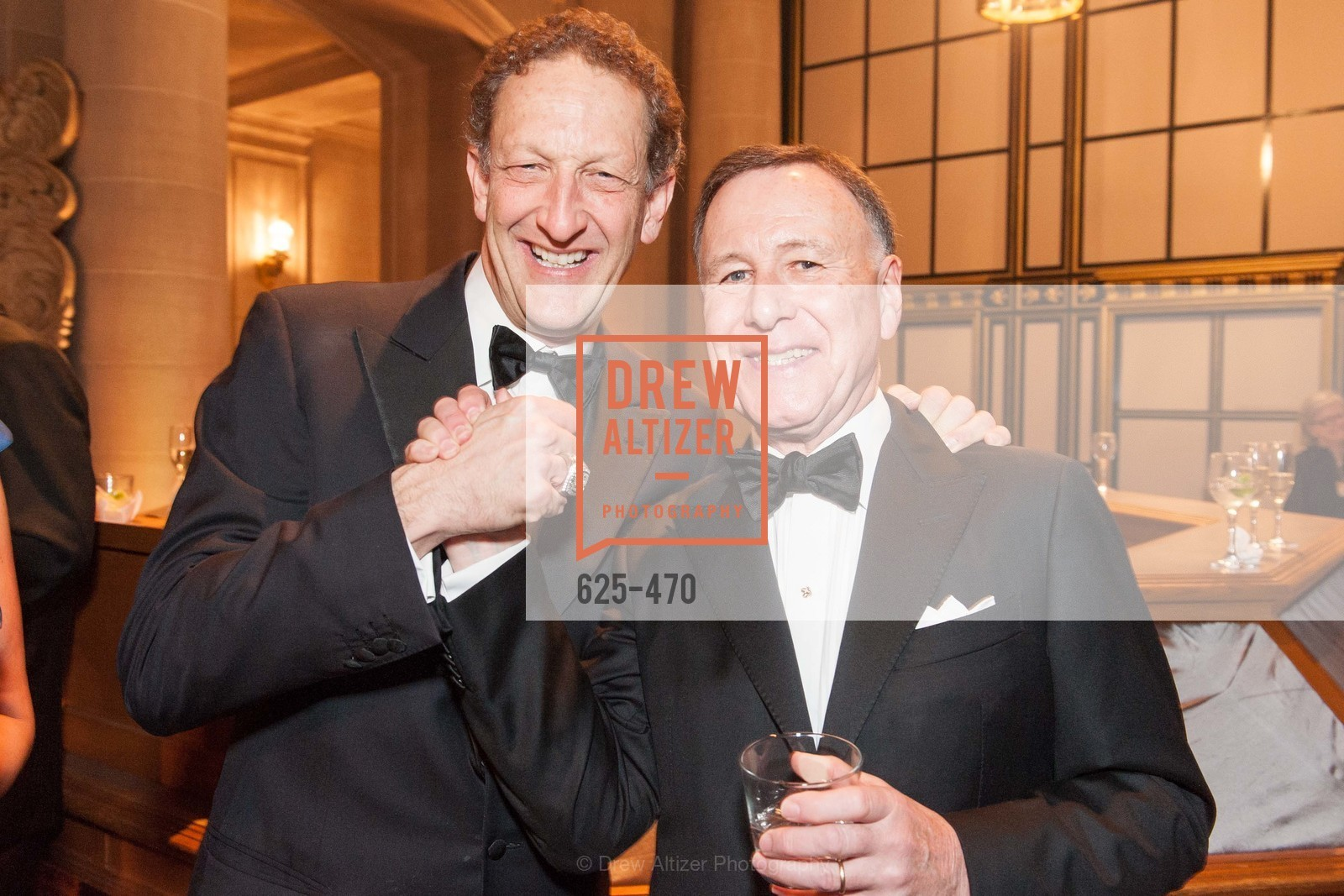 Larry Baer, Carl Pascarella, SAN FRANCISCO BALLET Opening Night Gala: PHENOMENAL - Arrivals, US. SF City Hall, January 22nd, 2014,Drew Altizer, Drew Altizer Photography, full-service agency, private events, San Francisco photographer, photographer california