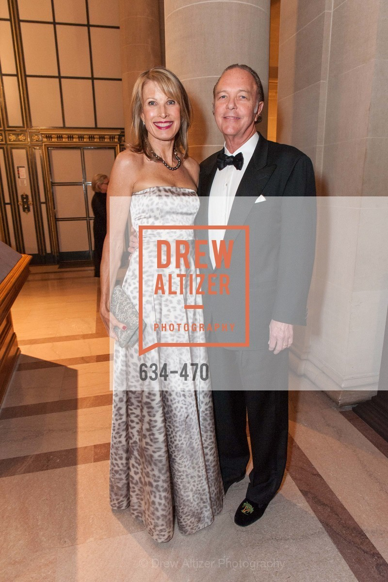 Katherine Crawford, Greg Crawford, SAN FRANCISCO BALLET Opening Night Gala: PHENOMENAL - Arrivals, US. SF City Hall, January 22nd, 2014,Drew Altizer, Drew Altizer Photography, full-service agency, private events, San Francisco photographer, photographer california
