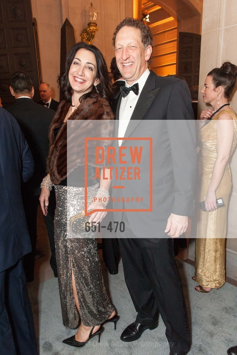 Pam Baer, Larry Baer, SAN FRANCISCO BALLET Opening Night Gala: PHENOMENAL - Arrivals, US. SF City Hall, January 22nd, 2014,Drew Altizer, Drew Altizer Photography, full-service agency, private events, San Francisco photographer, photographer california