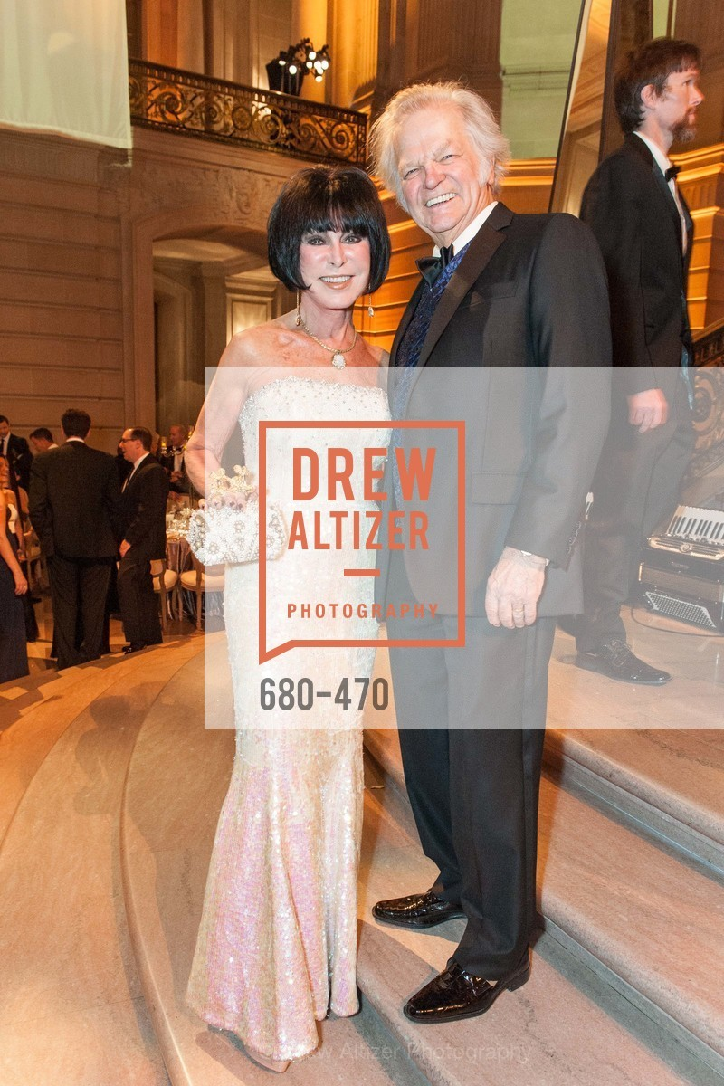 Marilyn Cabak, Michael Cabak, SAN FRANCISCO BALLET Opening Night Gala: PHENOMENAL - Arrivals, US. SF City Hall, January 22nd, 2014,Drew Altizer, Drew Altizer Photography, full-service agency, private events, San Francisco photographer, photographer california