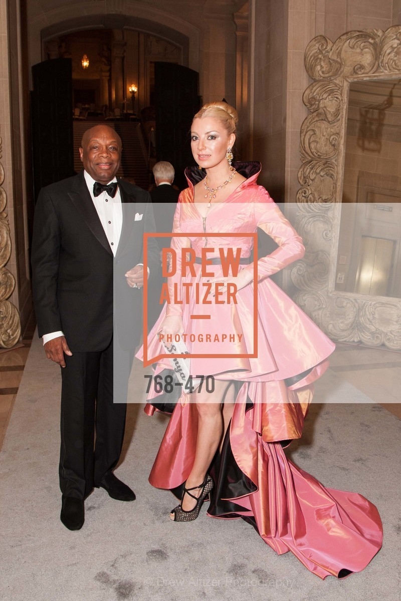 Willie Brown, Sonya Molodetskaya, SAN FRANCISCO BALLET Opening Night Gala: PHENOMENAL - Arrivals, US. SF City Hall, January 22nd, 2014,Drew Altizer, Drew Altizer Photography, full-service event agency, private events, San Francisco photographer, photographer California