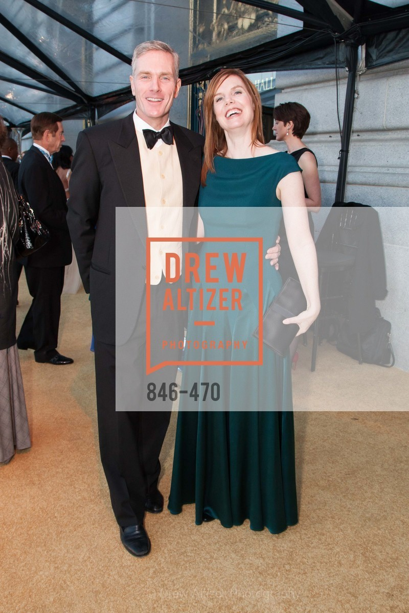 Donald Van De Mark, Brenda Lef, SAN FRANCISCO BALLET Opening Night Gala: PHENOMENAL - Arrivals, US. SF City Hall, January 22nd, 2014,Drew Altizer, Drew Altizer Photography, full-service agency, private events, San Francisco photographer, photographer california