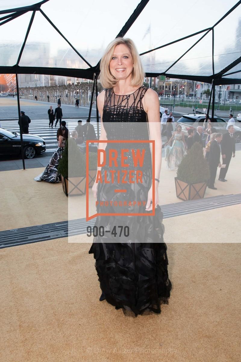 Debbie Messemer, SAN FRANCISCO BALLET Opening Night Gala: PHENOMENAL - Arrivals, US. SF City Hall, January 22nd, 2014