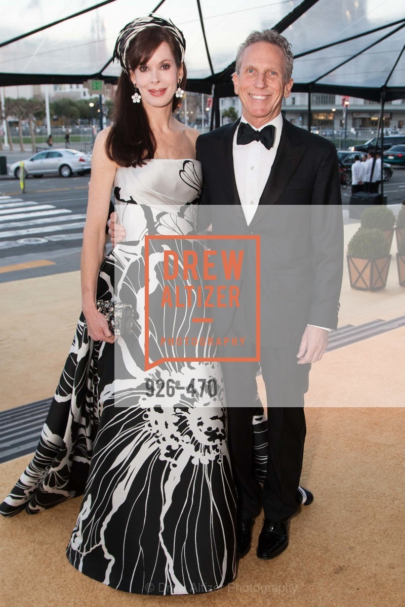 Stephanie Ejabat, Jim Marver, SAN FRANCISCO BALLET Opening Night Gala: PHENOMENAL - Arrivals, US. SF City Hall, January 22nd, 2014,Drew Altizer, Drew Altizer Photography, full-service event agency, private events, San Francisco photographer, photographer California