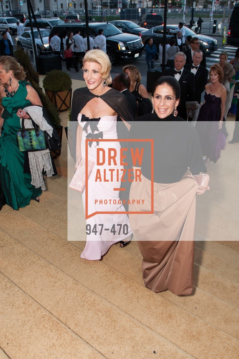 Karen Caldwell, Lisa Grotts, SAN FRANCISCO BALLET Opening Night Gala: PHENOMENAL - Arrivals, US. SF City Hall, January 22nd, 2014,Drew Altizer, Drew Altizer Photography, full-service agency, private events, San Francisco photographer, photographer california