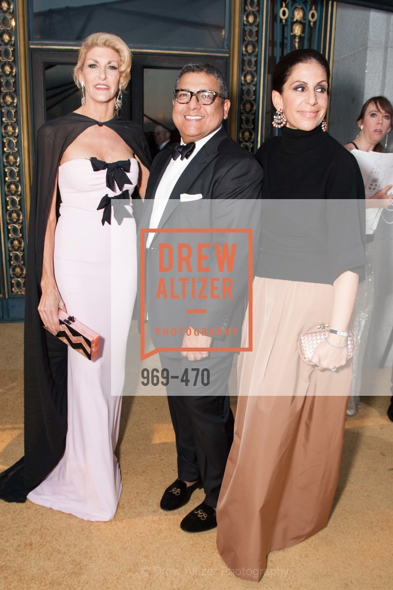 Karen Caldwell, Riccardo Benavides, Lisa Grotts, SAN FRANCISCO BALLET Opening Night Gala: PHENOMENAL - Arrivals, US. SF City Hall, January 22nd, 2014,Drew Altizer, Drew Altizer Photography, full-service event agency, private events, San Francisco photographer, photographer California