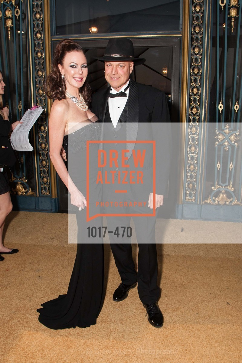 Margaret Mitchell, Freddy Clarke, SAN FRANCISCO BALLET Opening Night Gala: PHENOMENAL - Arrivals, US. SF City Hall, January 22nd, 2014
