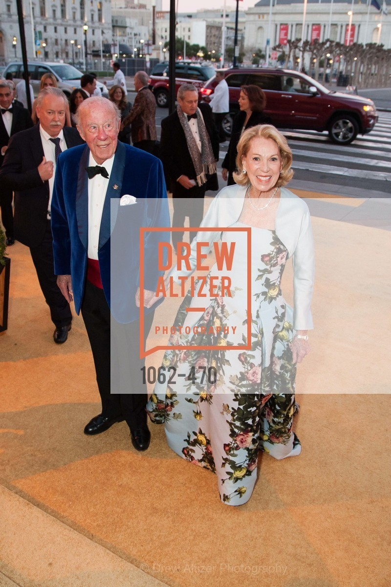 George Shultz, Charlotte Shultz, SAN FRANCISCO BALLET Opening Night Gala: PHENOMENAL - Arrivals, US. SF City Hall, January 22nd, 2014,Drew Altizer, Drew Altizer Photography, full-service event agency, private events, San Francisco photographer, photographer California