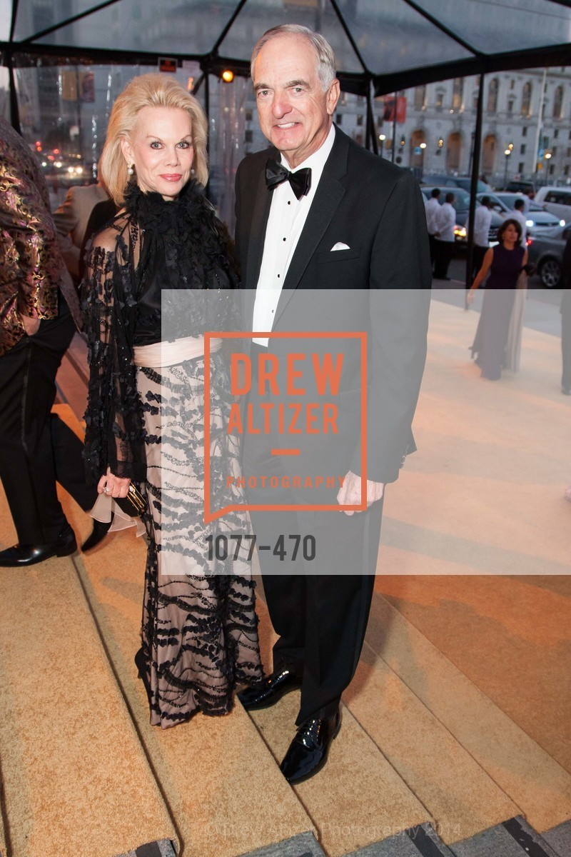 Sandra Farris, Mike Milstein, SAN FRANCISCO BALLET Opening Night Gala: PHENOMENAL - Arrivals, US. SF City Hall, January 22nd, 2014,Drew Altizer, Drew Altizer Photography, full-service agency, private events, San Francisco photographer, photographer california