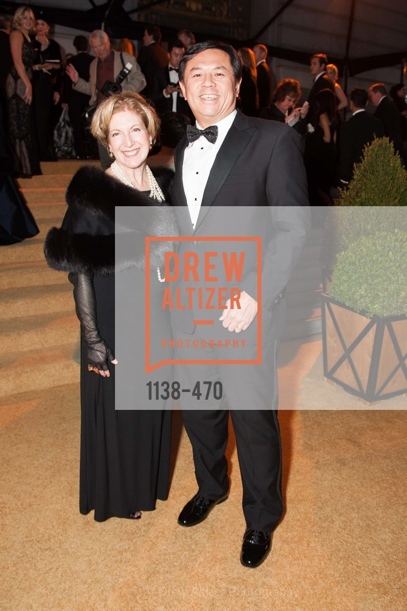Celeste Woo, Darryl Woo, SAN FRANCISCO BALLET Opening Night Gala: PHENOMENAL - Arrivals, US. SF City Hall, January 22nd, 2014,Drew Altizer, Drew Altizer Photography, full-service agency, private events, San Francisco photographer, photographer california