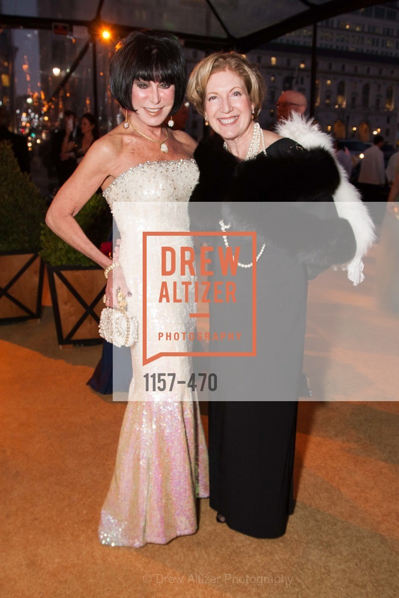 Marilyn Cabak, Celeste Woo, SAN FRANCISCO BALLET Opening Night Gala: PHENOMENAL - Arrivals, US. SF City Hall, January 22nd, 2014,Drew Altizer, Drew Altizer Photography, full-service agency, private events, San Francisco photographer, photographer california