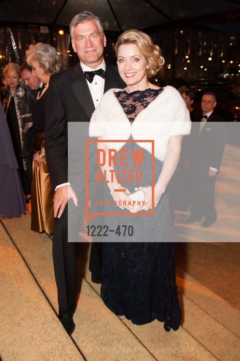 Tobias Powers, Pamela David, SAN FRANCISCO BALLET Opening Night Gala: PHENOMENAL - Arrivals, US. SF City Hall, January 22nd, 2014,Drew Altizer, Drew Altizer Photography, full-service event agency, private events, San Francisco photographer, photographer California