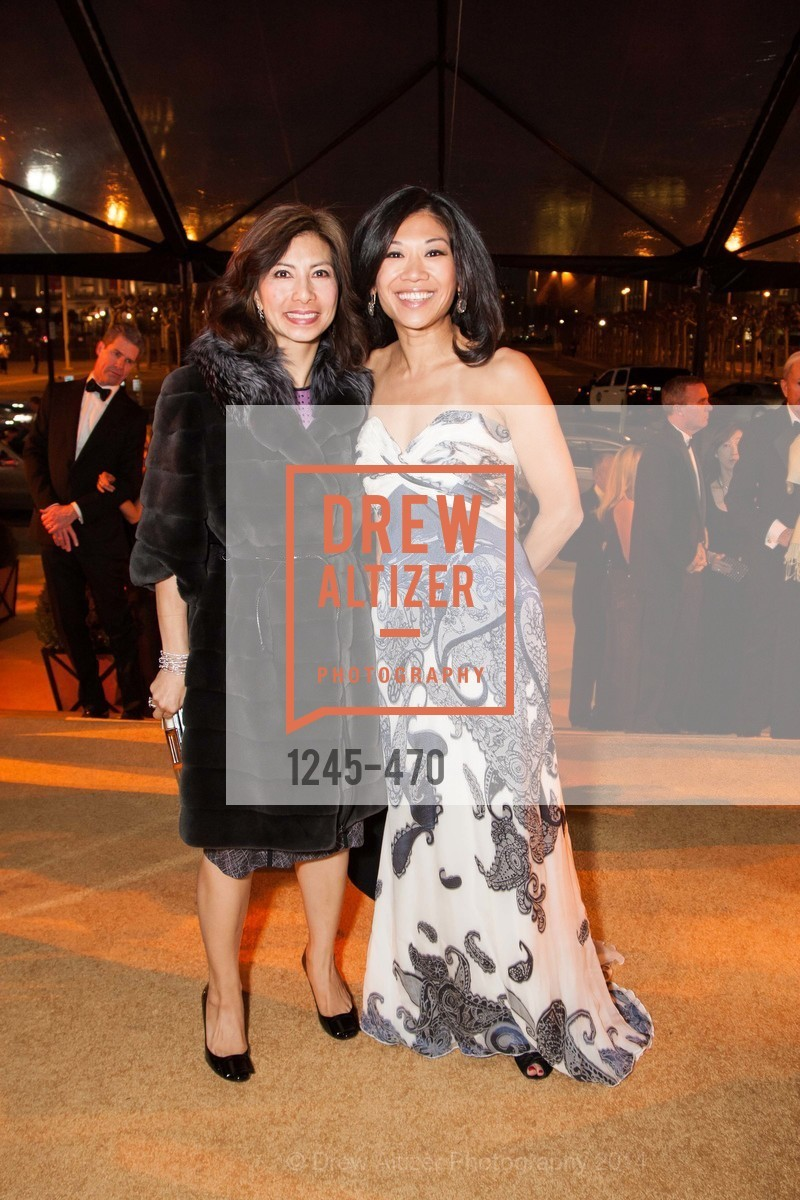 MIchelle Tai, Mary Pang, SAN FRANCISCO BALLET Opening Night Gala: PHENOMENAL - Arrivals, US. SF City Hall, January 22nd, 2014,Drew Altizer, Drew Altizer Photography, full-service agency, private events, San Francisco photographer, photographer california
