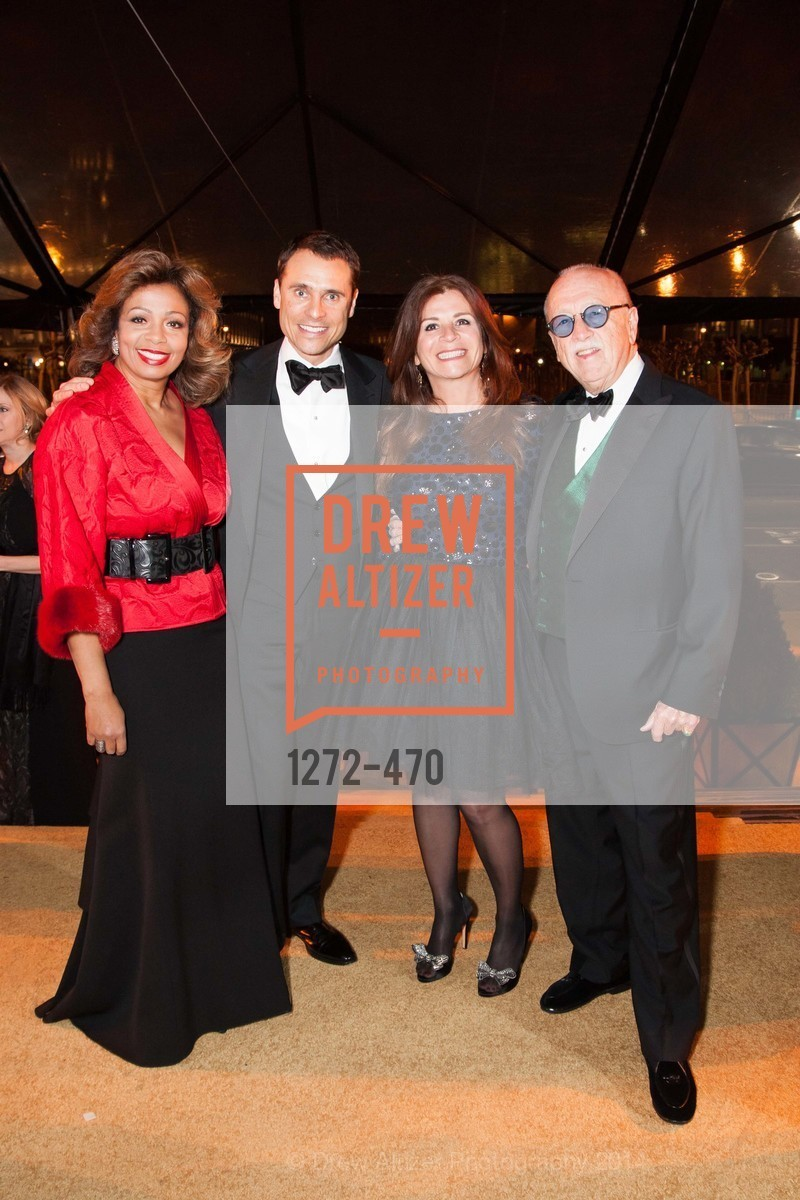 Cherie Chambers, Jeff Garelick, Farah Makras, Wilkes Bashford, SAN FRANCISCO BALLET Opening Night Gala: PHENOMENAL - Arrivals, US. SF City Hall, January 22nd, 2014,Drew Altizer, Drew Altizer Photography, full-service agency, private events, San Francisco photographer, photographer california