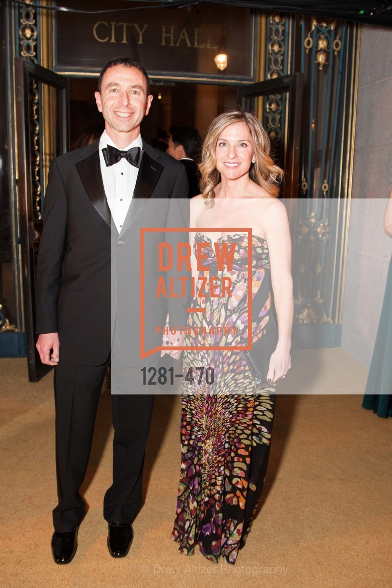 Alex Rosen, Tracie Rosen, SAN FRANCISCO BALLET Opening Night Gala: PHENOMENAL - Arrivals, US. SF City Hall, January 22nd, 2014,Drew Altizer, Drew Altizer Photography, full-service agency, private events, San Francisco photographer, photographer california