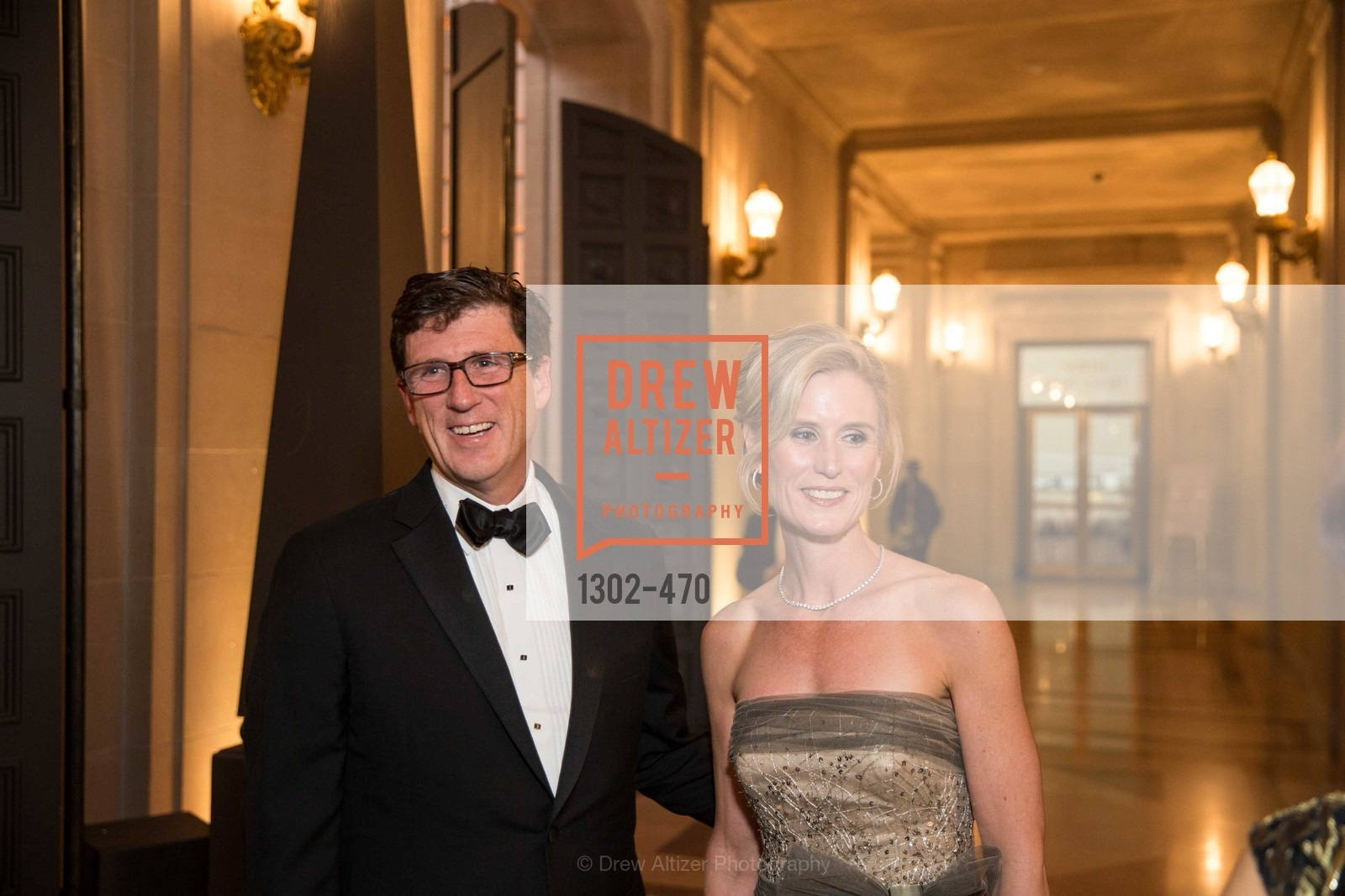Michael Mauze, Alison Mauze, SAN FRANCISCO BALLET Opening Night Gala: PHENOMENAL - Arrivals, US. SF City Hall, January 22nd, 2014