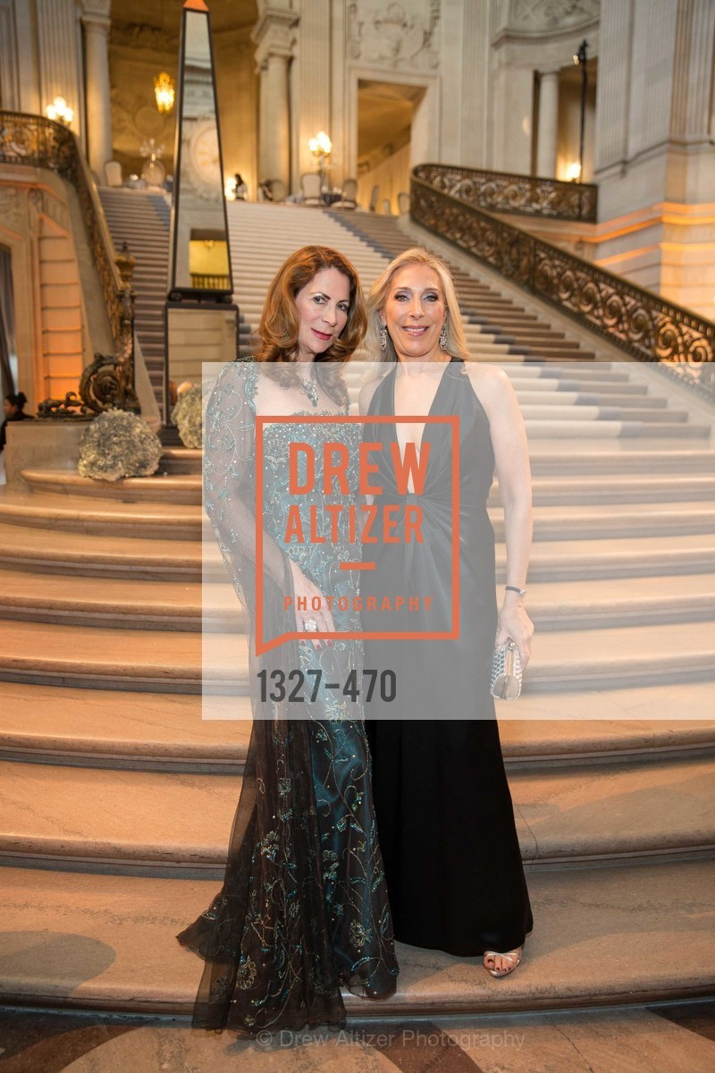 Patricia Ferrin Loucks, Betsy Linder, SAN FRANCISCO BALLET Opening Night Gala: PHENOMENAL - Arrivals, US. SF City Hall, January 22nd, 2014,Drew Altizer, Drew Altizer Photography, full-service event agency, private events, San Francisco photographer, photographer California