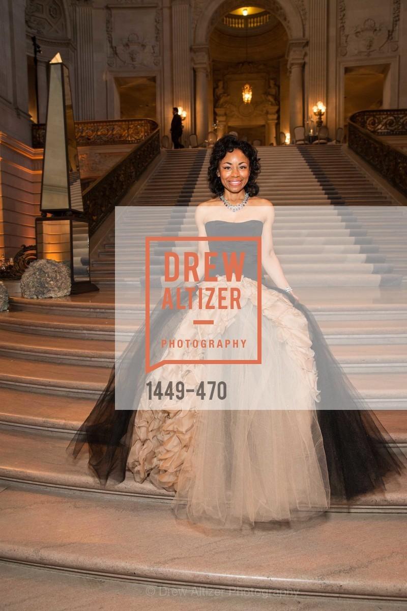 Tanya Powell, SAN FRANCISCO BALLET Opening Night Gala: PHENOMENAL - Arrivals, US. SF City Hall, January 22nd, 2014