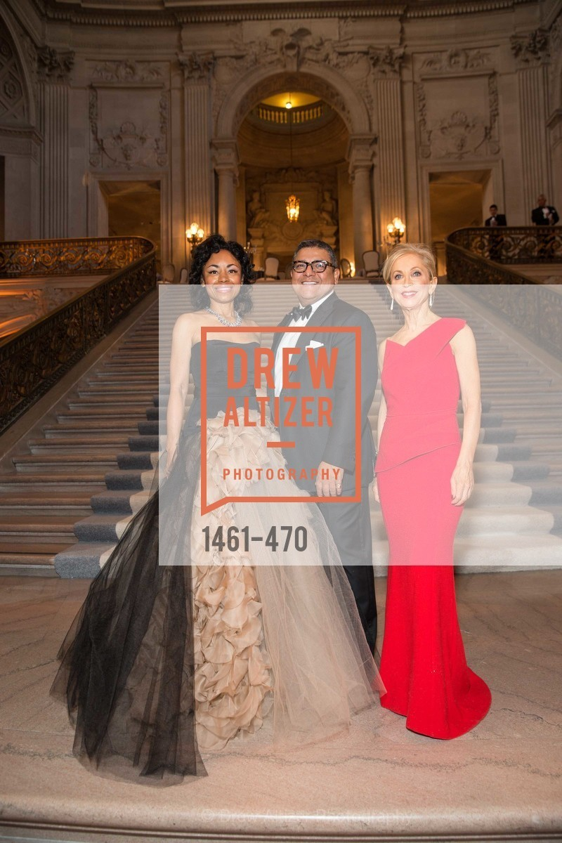Tanya Powell, Riccardo Benavides, Shelley Gordon, SAN FRANCISCO BALLET Opening Night Gala: PHENOMENAL - Arrivals, US. SF City Hall, January 22nd, 2014,Drew Altizer, Drew Altizer Photography, full-service agency, private events, San Francisco photographer, photographer california
