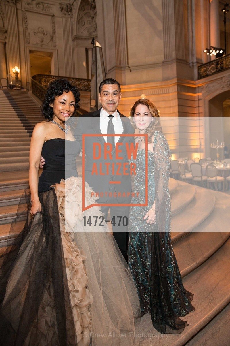 Tanya Powell, Daniel Diaz, Patricia Ferrin Loucks, SAN FRANCISCO BALLET Opening Night Gala: PHENOMENAL - Arrivals, US. SF City Hall, January 22nd, 2014,Drew Altizer, Drew Altizer Photography, full-service agency, private events, San Francisco photographer, photographer california