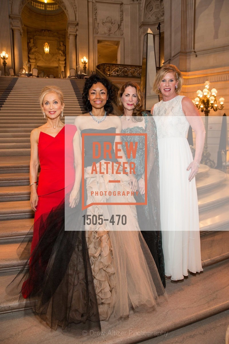 Shelley Gordon, Tanya Powell, Patricia Ferrin Loucks, Jennifer Brandenburg, SAN FRANCISCO BALLET Opening Night Gala: PHENOMENAL - Arrivals, US. SF City Hall, January 22nd, 2014,Drew Altizer, Drew Altizer Photography, full-service event agency, private events, San Francisco photographer, photographer California