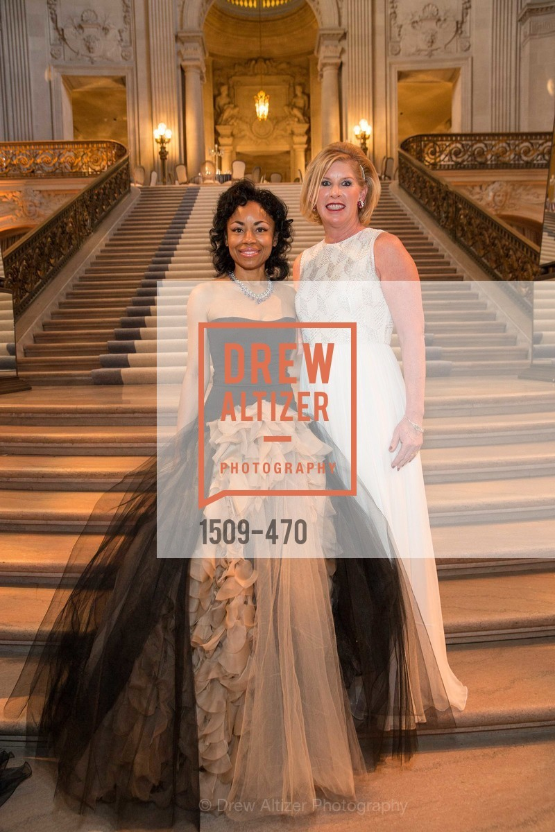 Tanya Powell, Jennifer Brandenburg, SAN FRANCISCO BALLET Opening Night Gala: PHENOMENAL - Arrivals, US. SF City Hall, January 22nd, 2014,Drew Altizer, Drew Altizer Photography, full-service event agency, private events, San Francisco photographer, photographer California