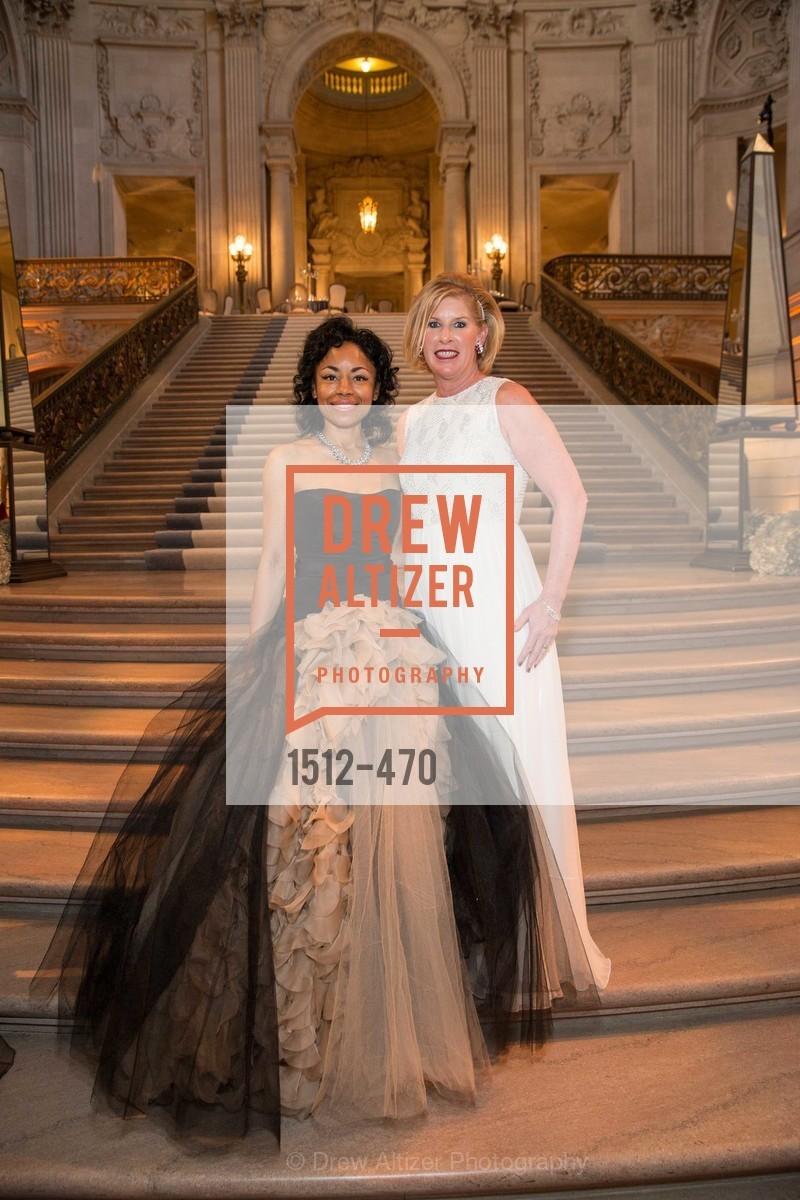 Tanya Powell, Jennifer Brandenburg, SAN FRANCISCO BALLET Opening Night Gala: PHENOMENAL - Arrivals, US. SF City Hall, January 22nd, 2014