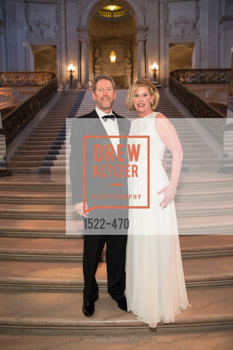 Bill Brandenburg, Jennifer Brandenburg, SAN FRANCISCO BALLET Opening Night Gala: PHENOMENAL - Arrivals, US. SF City Hall, January 22nd, 2014,Drew Altizer, Drew Altizer Photography, full-service agency, private events, San Francisco photographer, photographer california