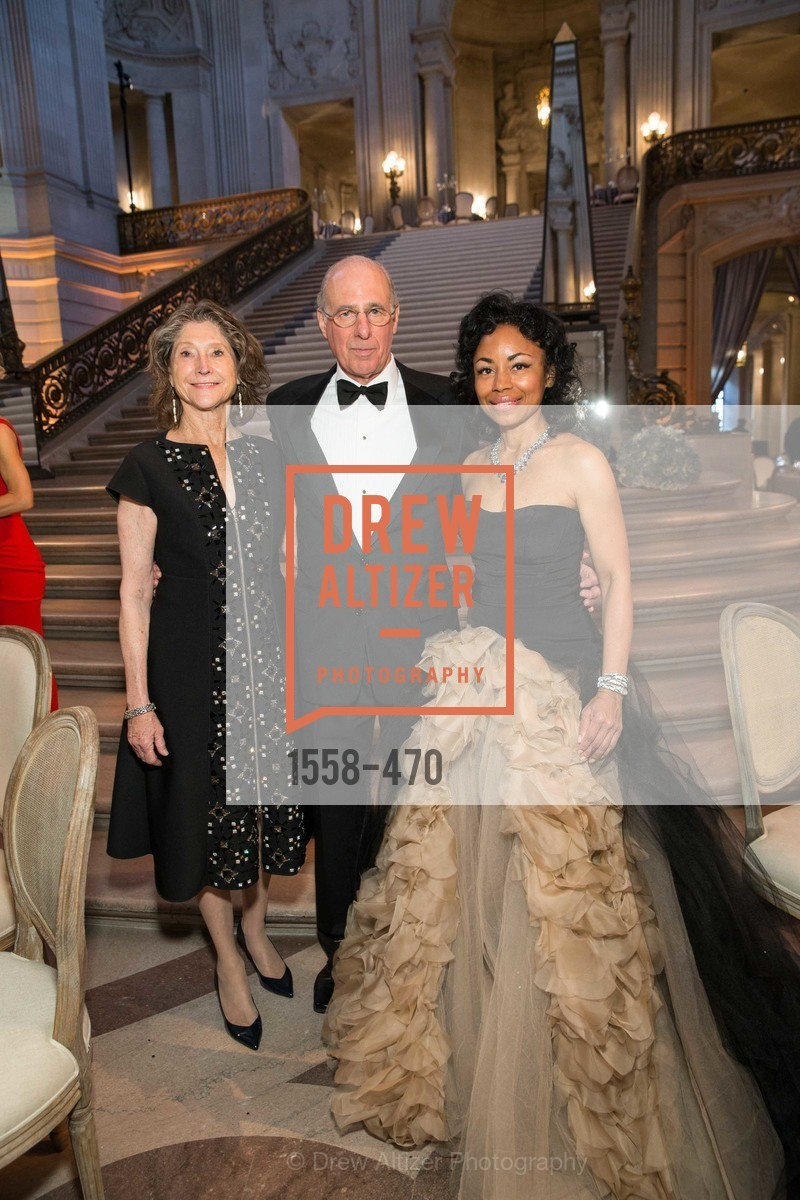 Barbara Osterweiss, John Osterwiess, Tanya Powell, SAN FRANCISCO BALLET Opening Night Gala: PHENOMENAL - Arrivals, US. SF City Hall, January 22nd, 2014,Drew Altizer, Drew Altizer Photography, full-service event agency, private events, San Francisco photographer, photographer California