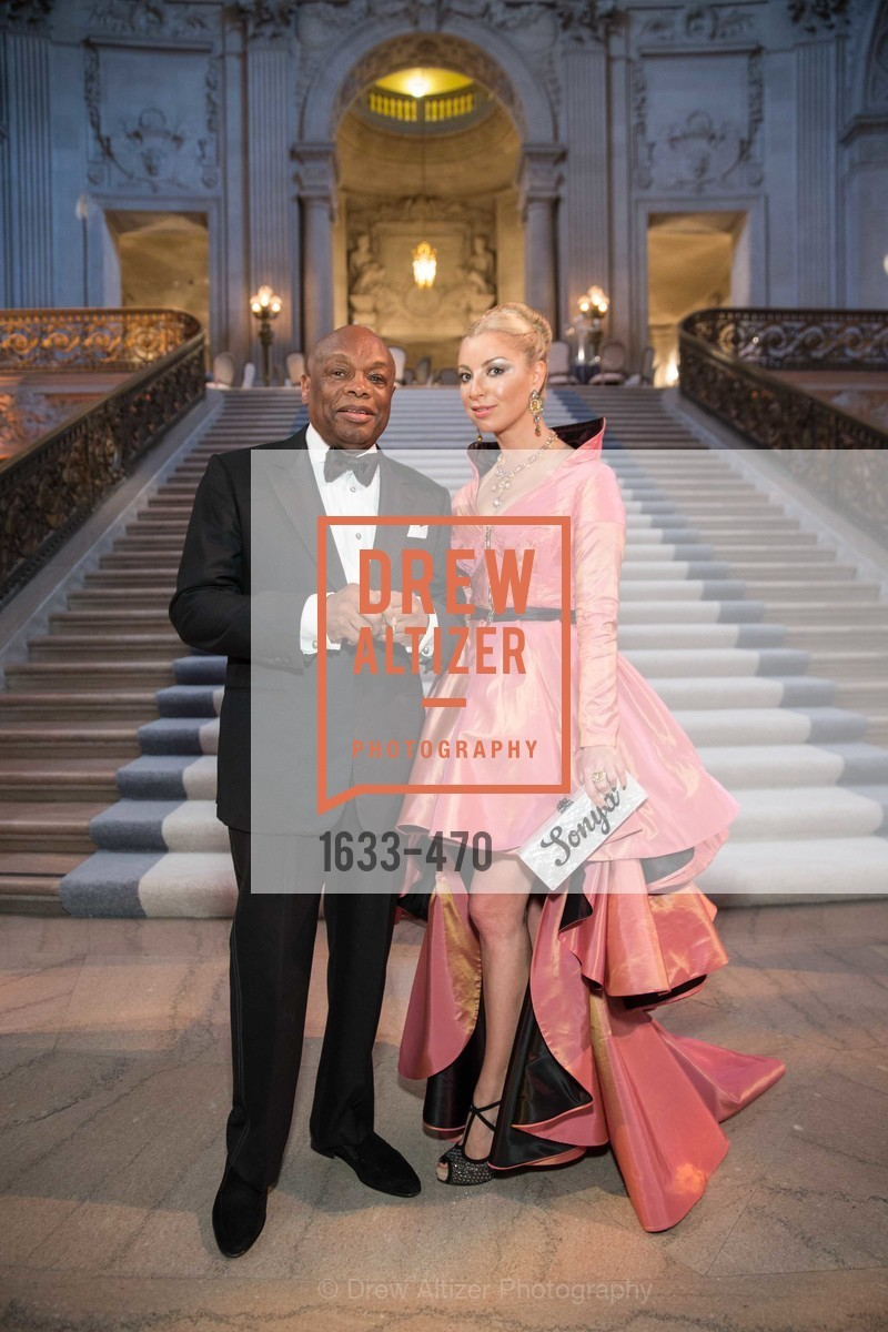 Willie Brown, Sonya Molodetskaya, SAN FRANCISCO BALLET Opening Night Gala: PHENOMENAL - Arrivals, US. SF City Hall, January 22nd, 2014,Drew Altizer, Drew Altizer Photography, full-service agency, private events, San Francisco photographer, photographer california