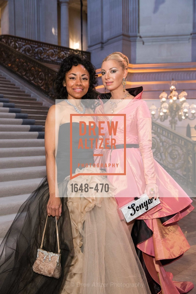 Tanya Powell, Sonya Molodetskaya, SAN FRANCISCO BALLET Opening Night Gala: PHENOMENAL - Arrivals, US. SF City Hall, January 22nd, 2014