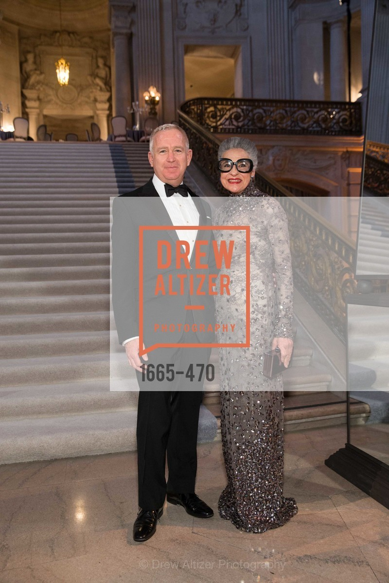 Glenn McCoy, Joy Venturini Bianchi, SAN FRANCISCO BALLET Opening Night Gala: PHENOMENAL - Arrivals, US. SF City Hall, January 22nd, 2014,Drew Altizer, Drew Altizer Photography, full-service agency, private events, San Francisco photographer, photographer california