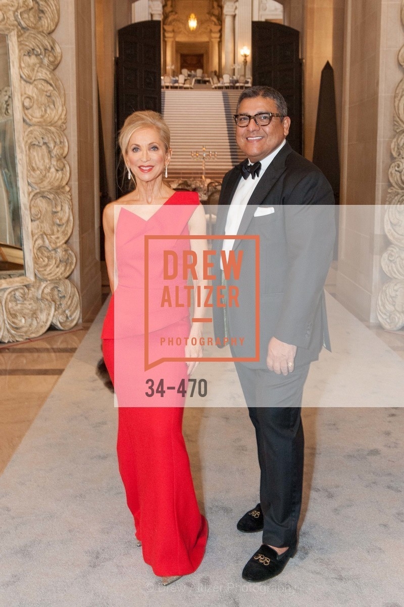 Shelley Gordon, Riccardo Benavides, SAN FRANCISCO BALLET Opening Night Gala: PHENOMENAL - Arrivals, US. SF City Hall, January 22nd, 2014,Drew Altizer, Drew Altizer Photography, full-service event agency, private events, San Francisco photographer, photographer California