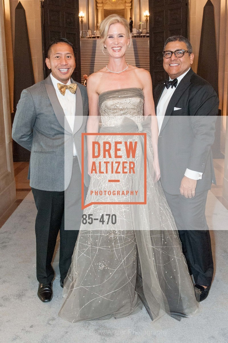 Fermin LaSalle, Alison Mauze, Riccardo Benavides, SAN FRANCISCO BALLET Opening Night Gala: PHENOMENAL - Arrivals, US. SF City Hall, January 22nd, 2014,Drew Altizer, Drew Altizer Photography, full-service agency, private events, San Francisco photographer, photographer california
