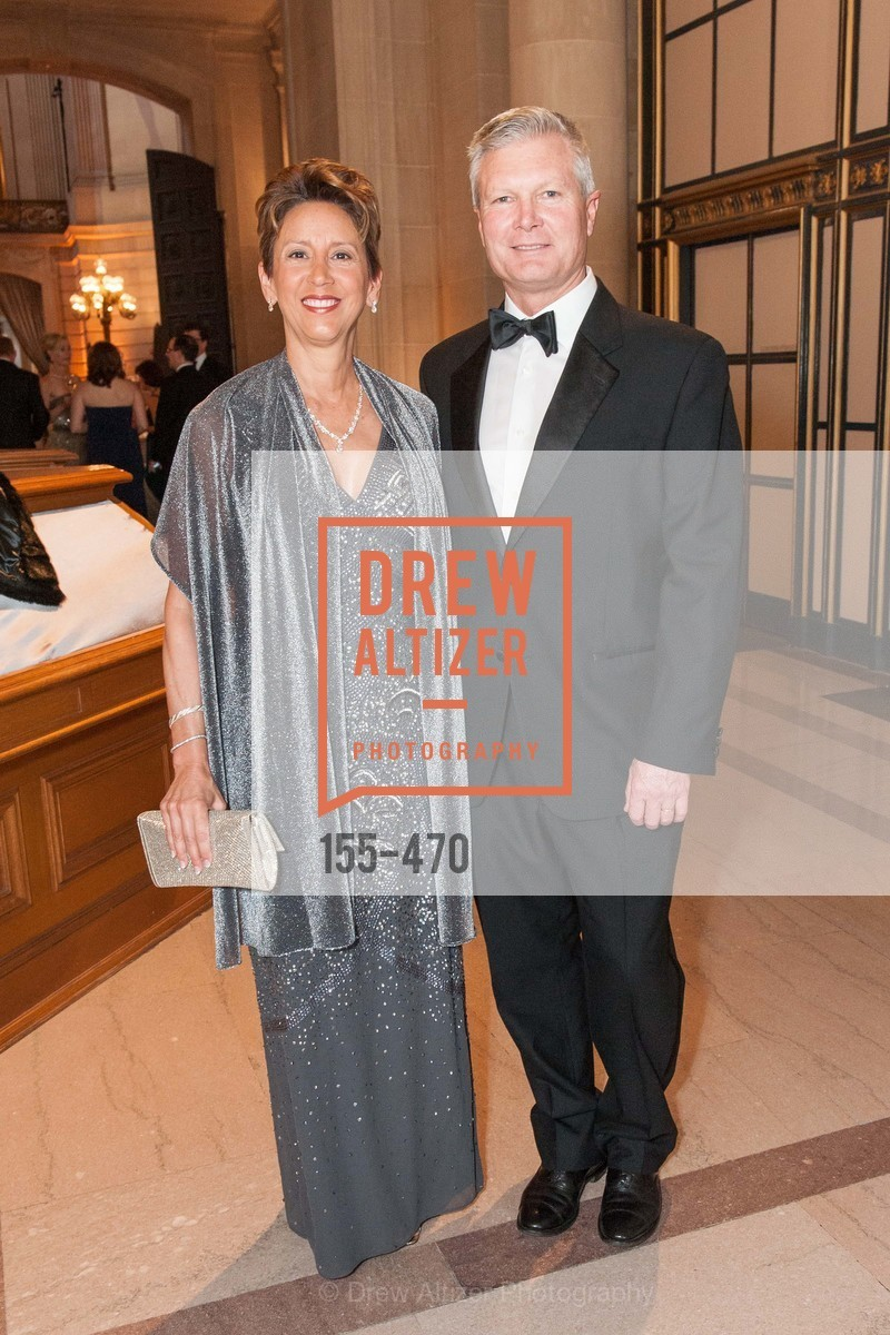 Vera Elson, Robert Elson, SAN FRANCISCO BALLET Opening Night Gala: PHENOMENAL - Arrivals, US. SF City Hall, January 22nd, 2014,Drew Altizer, Drew Altizer Photography, full-service agency, private events, San Francisco photographer, photographer california