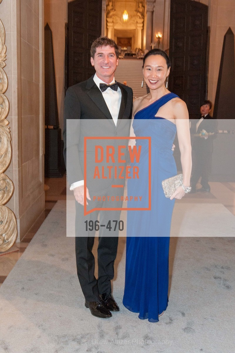 Patrick King, Carolyn Chang, SAN FRANCISCO BALLET Opening Night Gala: PHENOMENAL - Arrivals, US. SF City Hall, January 22nd, 2014,Drew Altizer, Drew Altizer Photography, full-service agency, private events, San Francisco photographer, photographer california