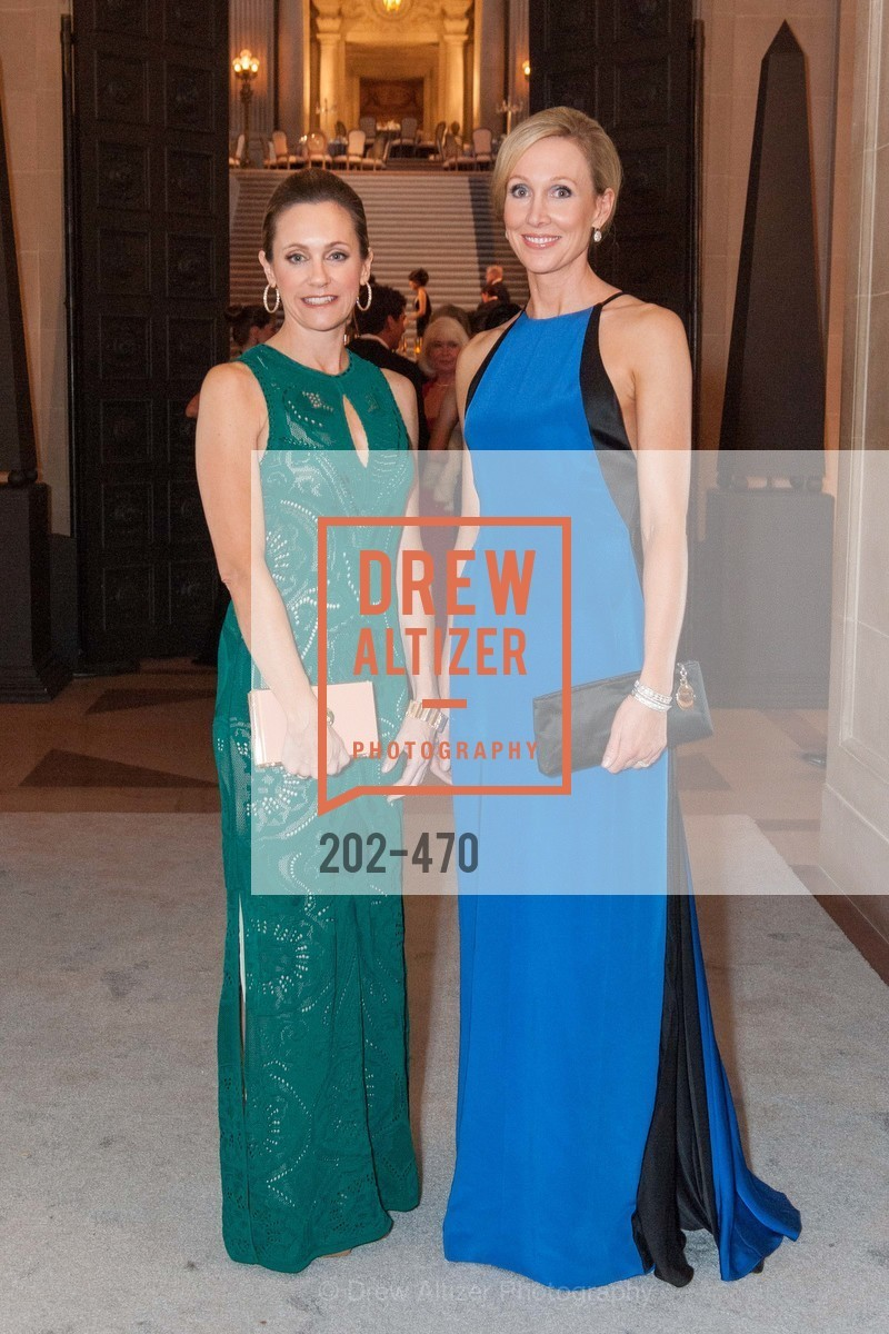 Amy Burnett, Karen Sonneborn, SAN FRANCISCO BALLET Opening Night Gala: PHENOMENAL - Arrivals, US. SF City Hall, January 22nd, 2014,Drew Altizer, Drew Altizer Photography, full-service agency, private events, San Francisco photographer, photographer california