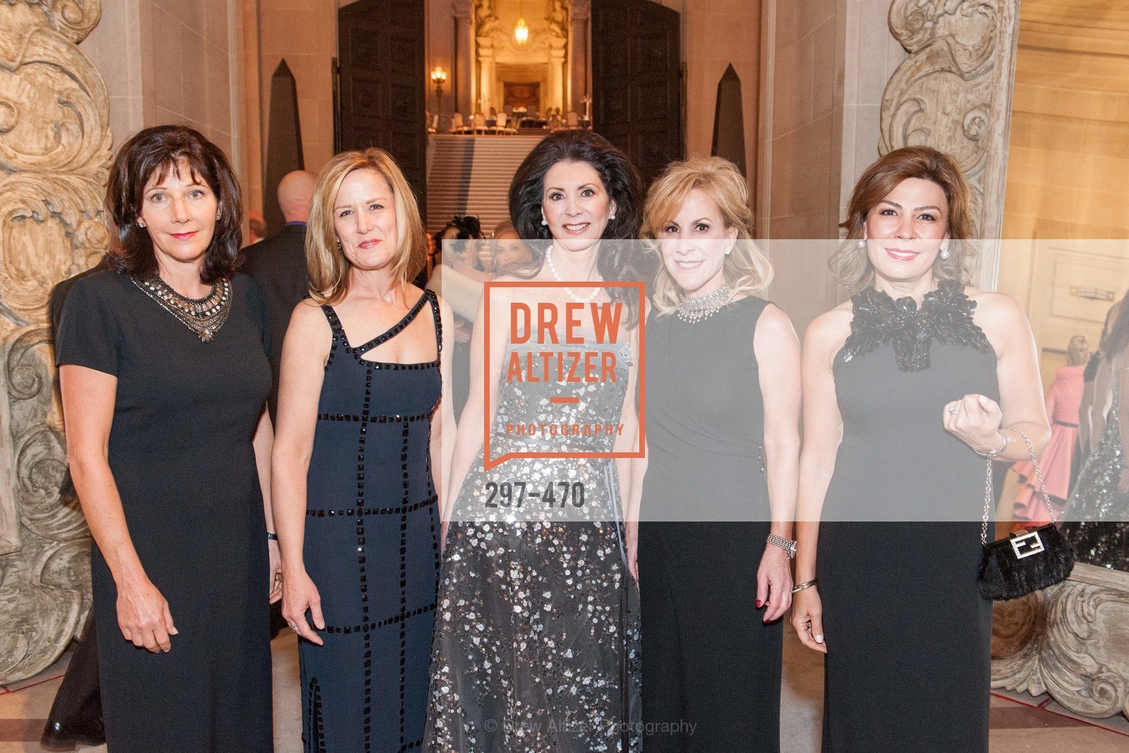 Melissa Irani, Shirley Leroy, Constance Wyatt, Julia Kelly, Simi Chehrazi, SAN FRANCISCO BALLET Opening Night Gala: PHENOMENAL - Arrivals, US. SF City Hall, January 22nd, 2014,Drew Altizer, Drew Altizer Photography, full-service agency, private events, San Francisco photographer, photographer california