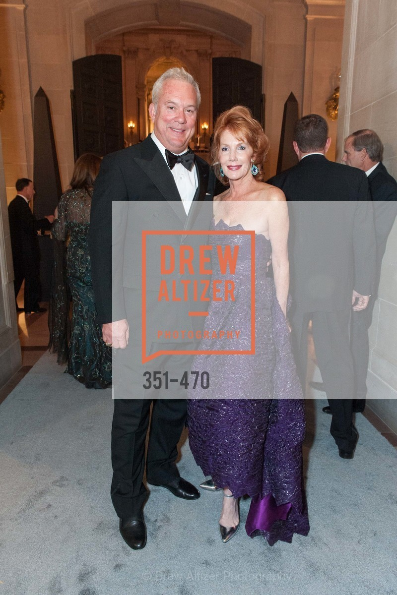 John Herr, Maureen Herr, SAN FRANCISCO BALLET Opening Night Gala: PHENOMENAL - Arrivals, US. SF City Hall, January 22nd, 2014,Drew Altizer, Drew Altizer Photography, full-service agency, private events, San Francisco photographer, photographer california