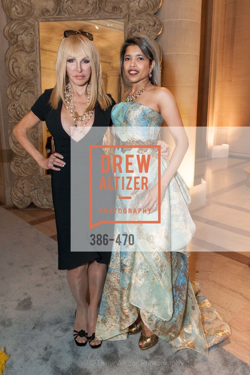 Elisabeth Lawrence, Deepa Pakianathan, SAN FRANCISCO BALLET Opening Night Gala: PHENOMENAL - Arrivals, US. SF City Hall, January 22nd, 2014,Drew Altizer, Drew Altizer Photography, full-service agency, private events, San Francisco photographer, photographer california