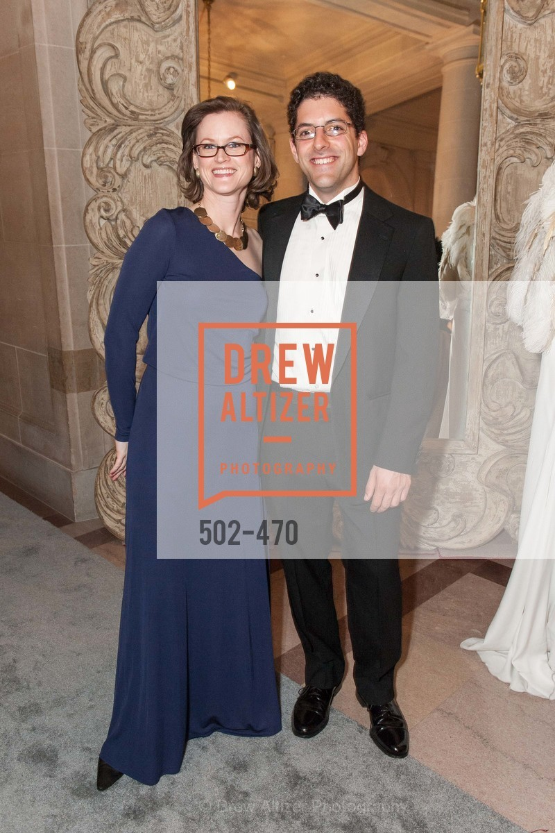 Lucy Daswani, Jonathan Levin, SAN FRANCISCO BALLET Opening Night Gala: PHENOMENAL - Arrivals, US. SF City Hall, January 22nd, 2014,Drew Altizer, Drew Altizer Photography, full-service agency, private events, San Francisco photographer, photographer california