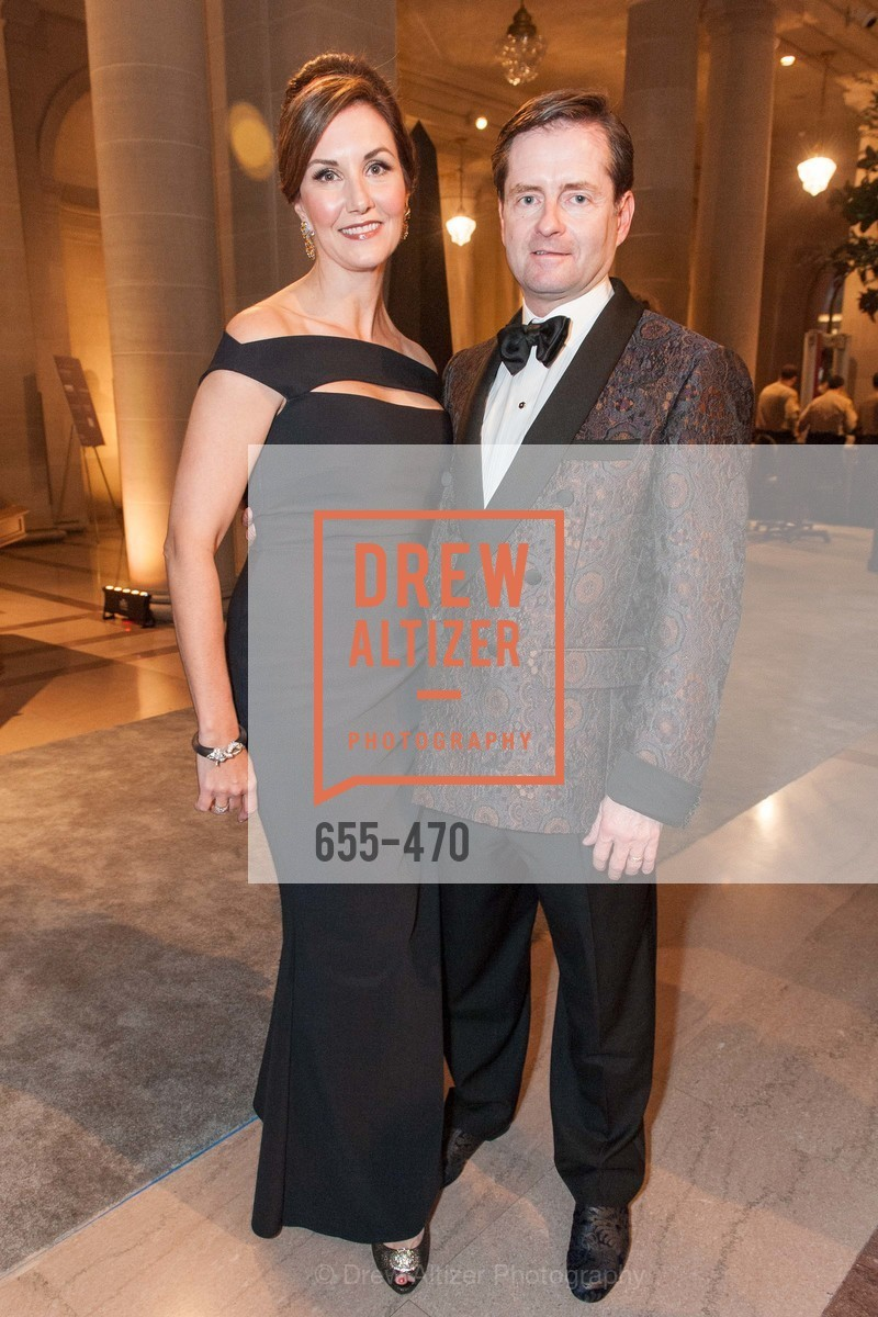 Julie Dolan, Christopher Dolan, SAN FRANCISCO BALLET Opening Night Gala: PHENOMENAL - Arrivals, US. SF City Hall, January 22nd, 2014,Drew Altizer, Drew Altizer Photography, full-service agency, private events, San Francisco photographer, photographer california
