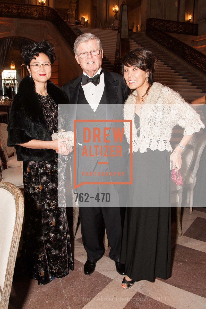 Beverly Hu, Richard Barker, Sally Sobek, SAN FRANCISCO BALLET Opening Night Gala: PHENOMENAL - Arrivals, US. SF City Hall, January 22nd, 2014,Drew Altizer, Drew Altizer Photography, full-service agency, private events, San Francisco photographer, photographer california