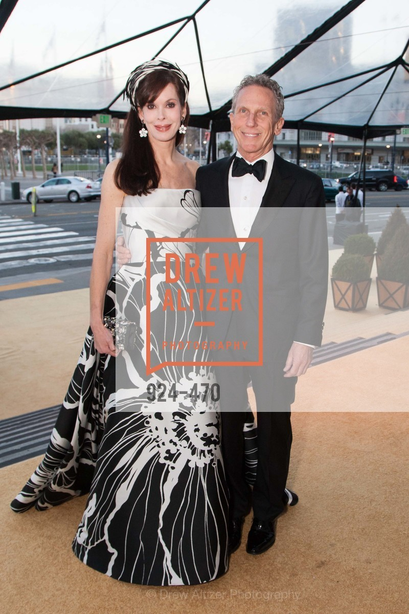 Stephanie Ejabat, Jim Marver, SAN FRANCISCO BALLET Opening Night Gala: PHENOMENAL - Arrivals, US. SF City Hall, January 22nd, 2014,Drew Altizer, Drew Altizer Photography, full-service agency, private events, San Francisco photographer, photographer california
