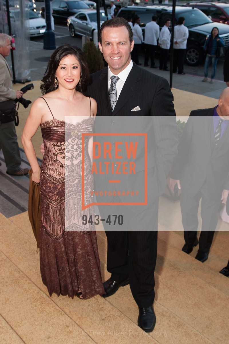 Kristi Yamaguchi, Bret Hedican, SAN FRANCISCO BALLET Opening Night Gala: PHENOMENAL - Arrivals, US. SF City Hall, January 22nd, 2014,Drew Altizer, Drew Altizer Photography, full-service agency, private events, San Francisco photographer, photographer california