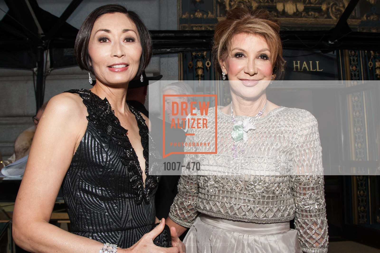 Yurie Pascarella, Lonna Wais, SAN FRANCISCO BALLET Opening Night Gala: PHENOMENAL - Arrivals, US. SF City Hall, January 22nd, 2014,Drew Altizer, Drew Altizer Photography, full-service agency, private events, San Francisco photographer, photographer california