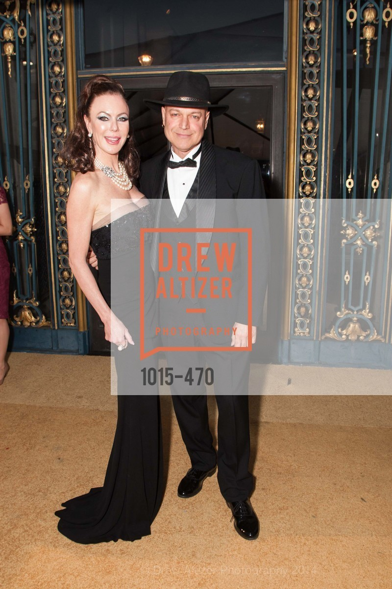 Margaret Mitchell, Freddy Clarke, SAN FRANCISCO BALLET Opening Night Gala: PHENOMENAL - Arrivals, US. SF City Hall, January 22nd, 2014,Drew Altizer, Drew Altizer Photography, full-service event agency, private events, San Francisco photographer, photographer California