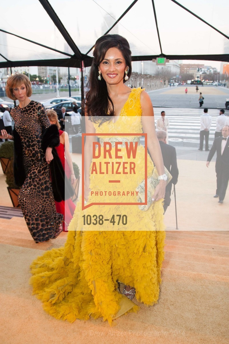 Komal Shah, SAN FRANCISCO BALLET Opening Night Gala: PHENOMENAL - Arrivals, US. SF City Hall, January 22nd, 2014,Drew Altizer, Drew Altizer Photography, full-service agency, private events, San Francisco photographer, photographer california