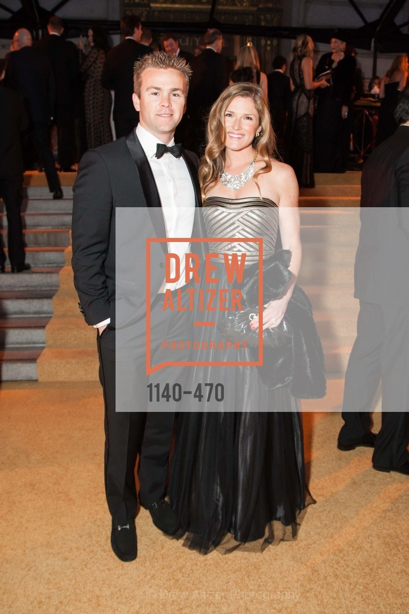 Ian Bridges, Recebba Barker Bridges, SAN FRANCISCO BALLET Opening Night Gala: PHENOMENAL - Arrivals, US. SF City Hall, January 22nd, 2014,Drew Altizer, Drew Altizer Photography, full-service agency, private events, San Francisco photographer, photographer california